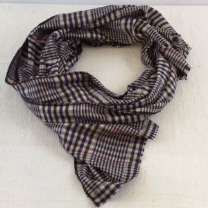 Accessories - Chilly Days Plaid Blanket Scarf